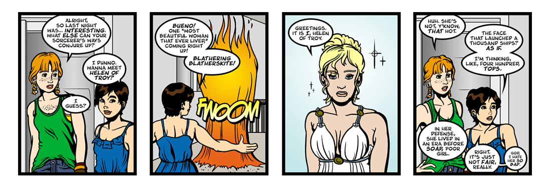 Doctor Faustus (18 of 19)  Comic Strip