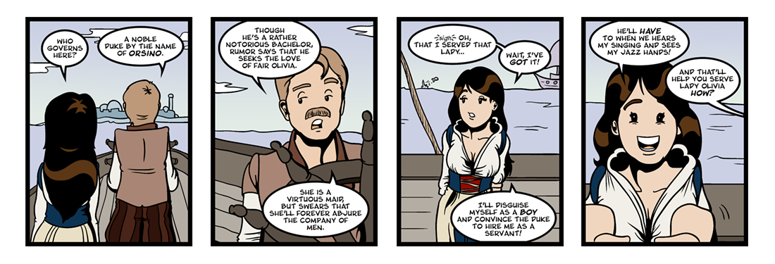 Twelfth Night (4 of 37)  Comic Strip