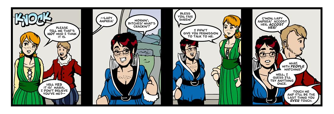 Twelfth Night (6 of 37)  Comic Strip