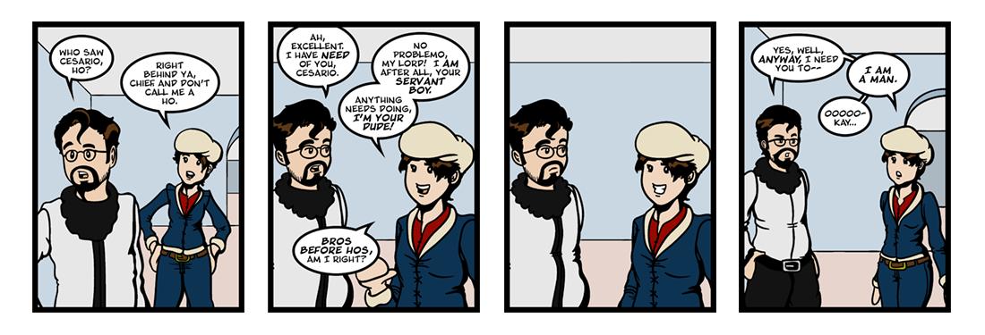 Twelfth Night (10 of 37)  Comic Strip