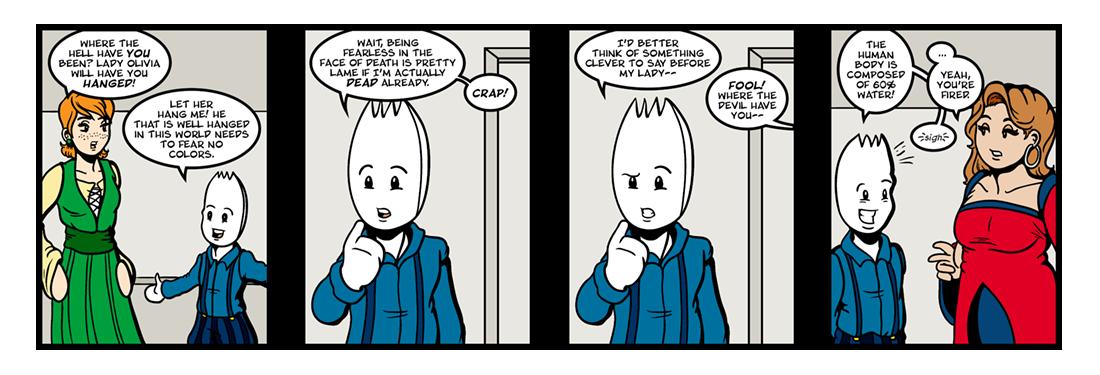 Twelfth Night (12 of 37)  Comic Strip