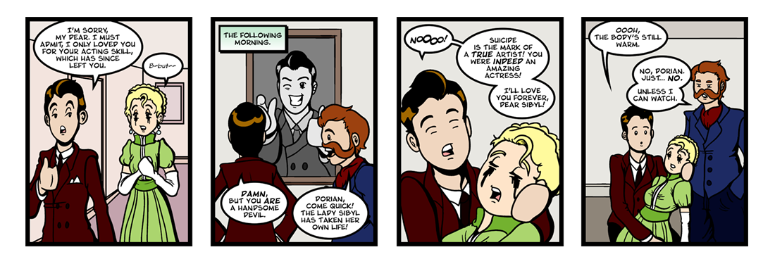 The Picture of Dorian Gray (2 of 2)  Comic Strip