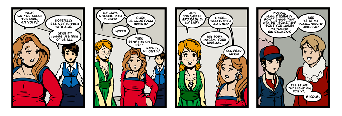 Twelfth Night (15 of 37)  Comic Strip