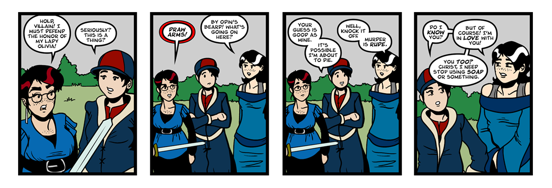 Twelfth Night (31 of 37)  Comic Strip
