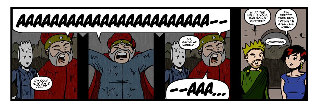 King Lear (2 of 2)  Comic Strip
