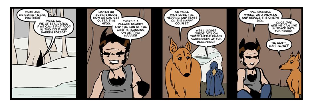 Native American Trickster Tales (2)  Comic Strip