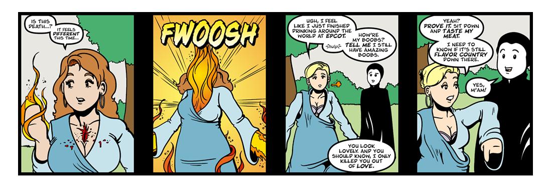 The Temple: Love III  Comic Strip
