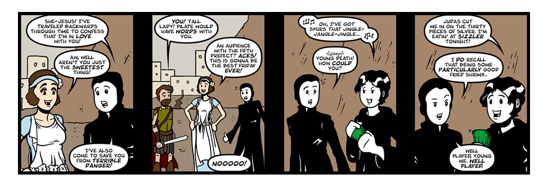 The Retreat  Comic Strip