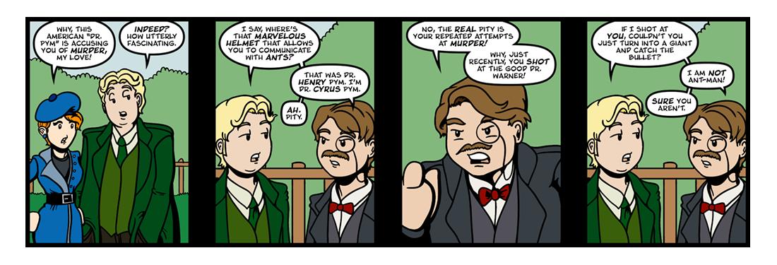 Manalive  Comic Strip