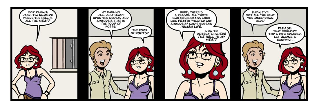 Upon Jack and Jill. Epig.  Comic Strip