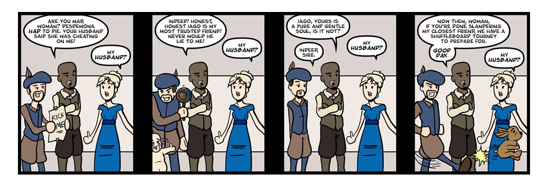 Othello  Comic Strip