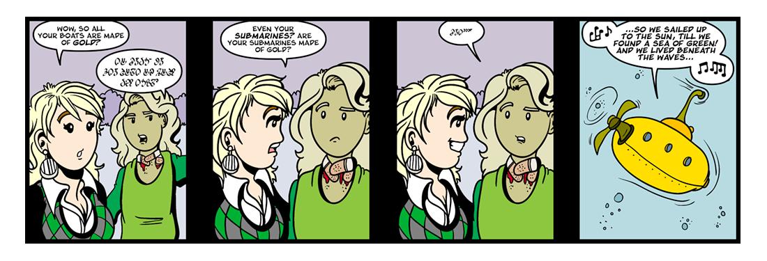 The Blazing World (6 of 13)  Comic Strip