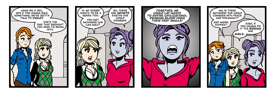 The Blazing World (12 of 13)  Comic Strip