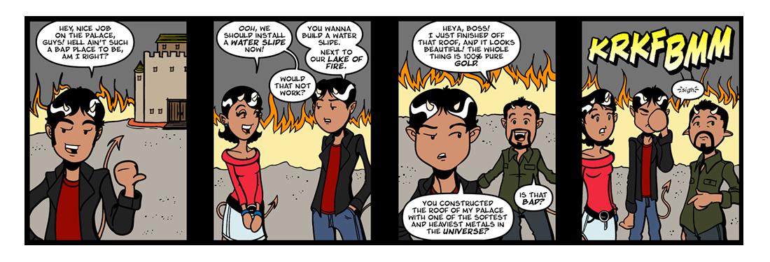 Paradise Lost (1)  Comic Strip