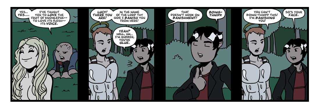 Paradise Lost (15)  Comic Strip
