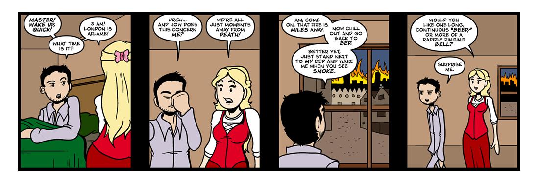 The Diary of Samuel Pepys  Comic Strip
