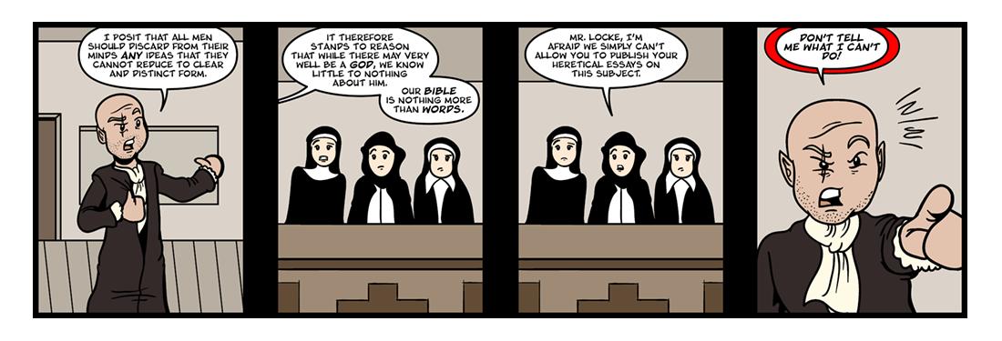 An Essay Concerning Human Understanding  Comic Strip