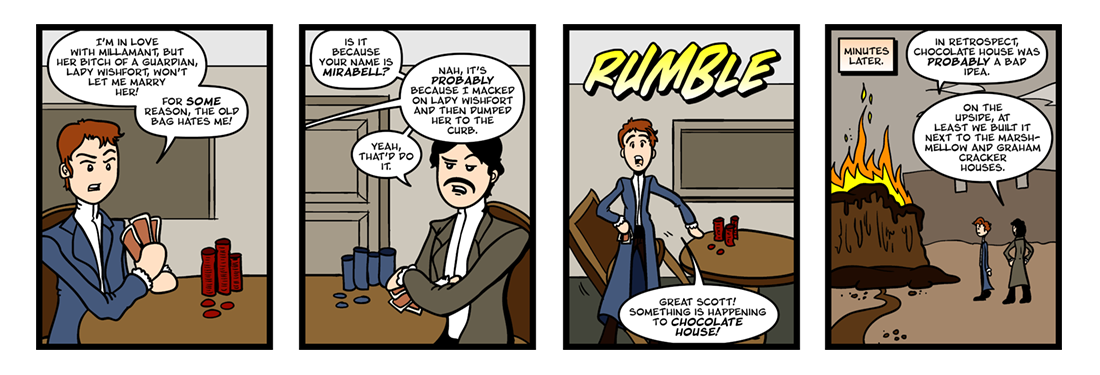 The Way of the World (1 of 3)  Comic Strip