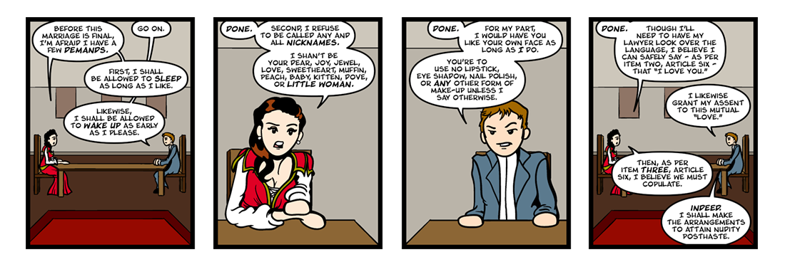 The Way of the World (2 of 3)  Comic Strip