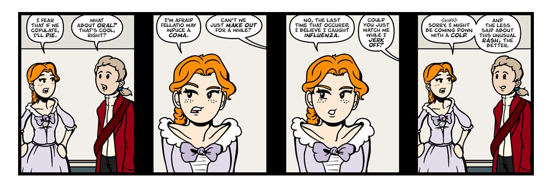 A True Maid  Comic Strip