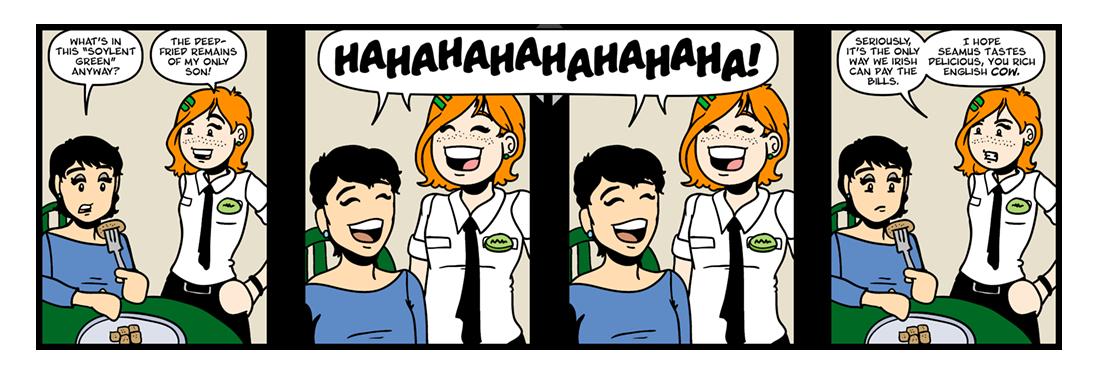 A Modest Proposal  Comic Strip