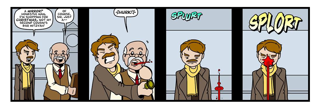 Markheim (1 of 2)  Comic Strip