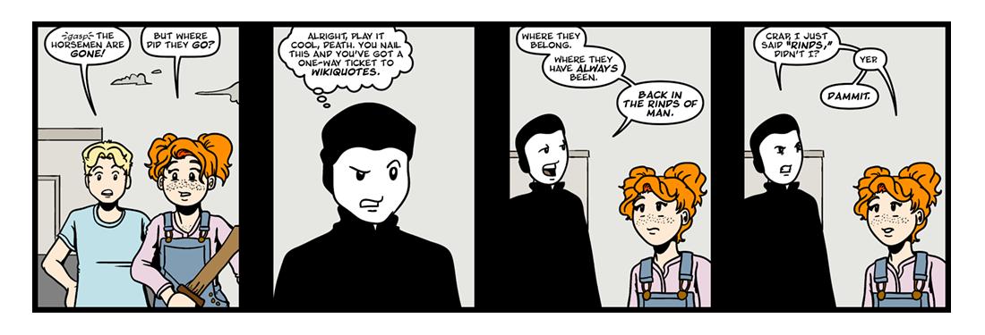Good Omens  Comic Strip