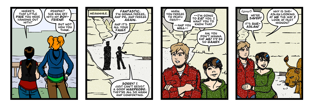 The Chronicles of Narnia  Comic Strip