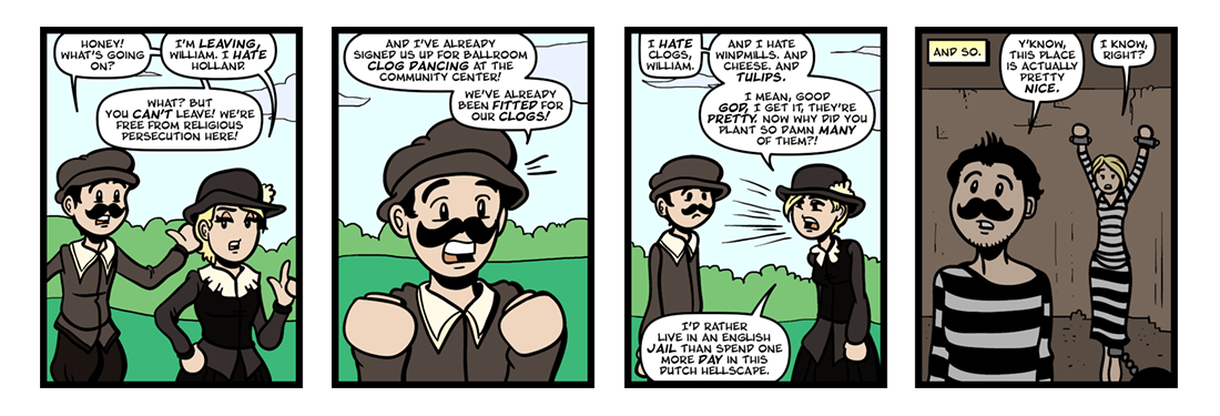 Of Plymouth Plantation, Part 1
