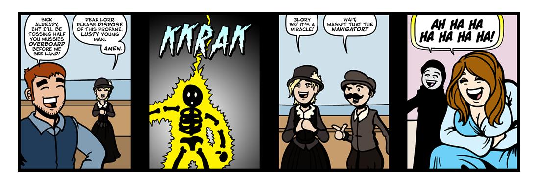 Of Plymouth Plantation, Part 3  Comic Strip