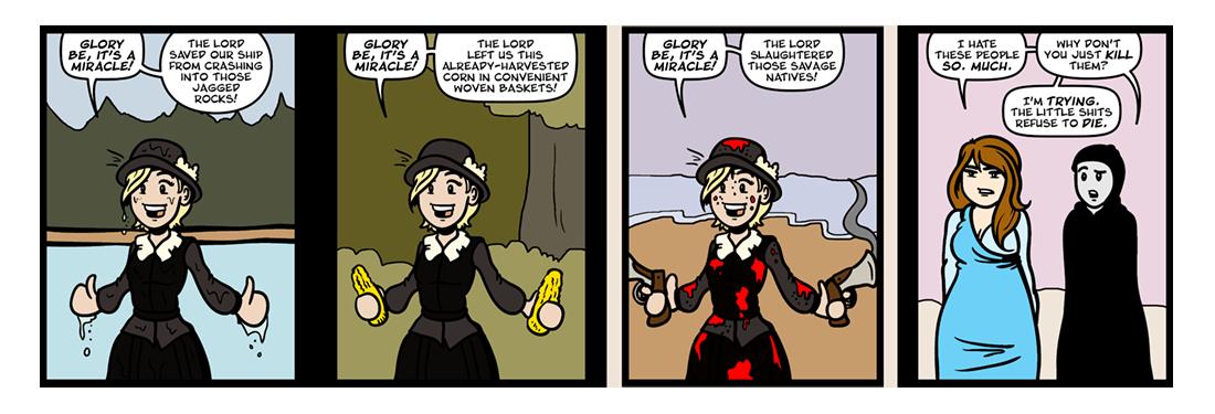 Of Plymouth Plantation, Part 4  Comic Strip