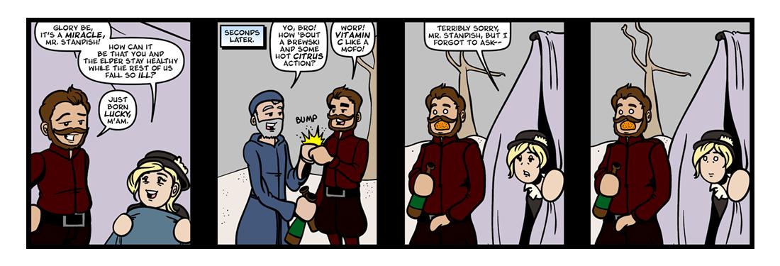 Of Plymouth Plantation, Part 6  Comic Strip