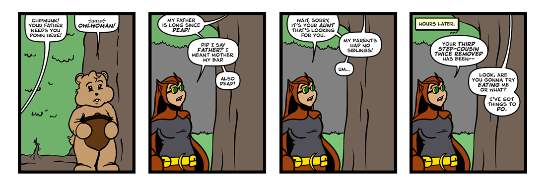 Owlwoman and Coyote, Part 1