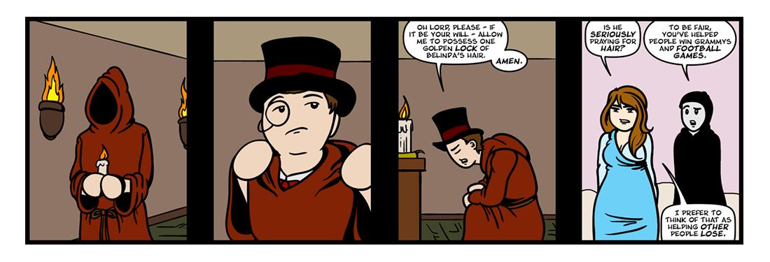 The Rape of the Lock, Part 4  Comic Strip