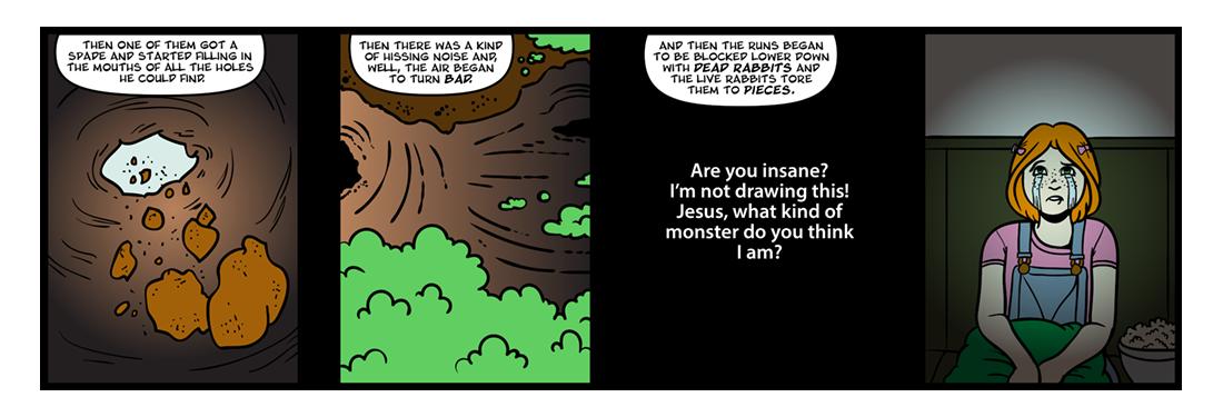 Watership Down, Part 3  Comic Strip