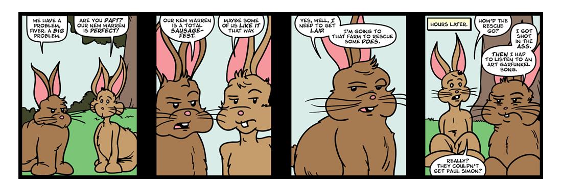 Watership Down, Part 4  Comic Strip