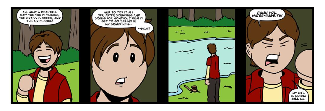 Watership Down, Part 5  Comic Strip