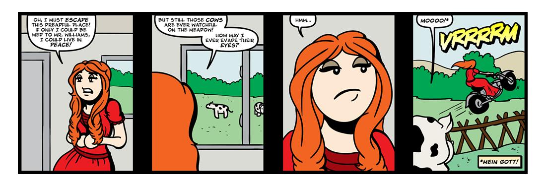 Pamela, or Virtue Rewarded (Part 3)  Comic Strip