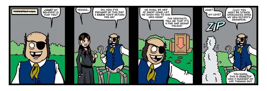 Jane Eyre (Part 5)  Comic Strip