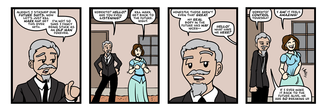 Downtiming The Night Side  Comic Strip