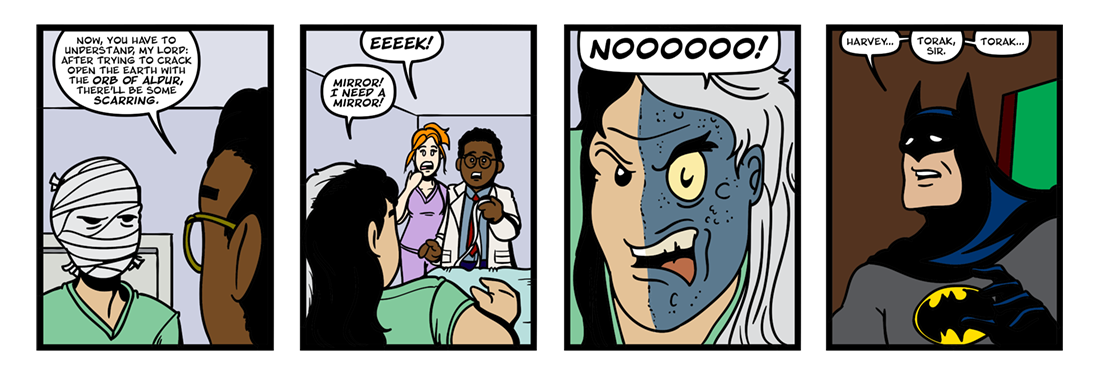 The Belgariad (Part 1)  Comic Strip