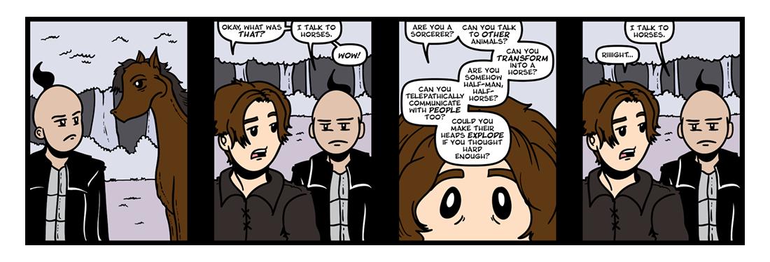 The Belgariad (Part 2)  Comic Strip