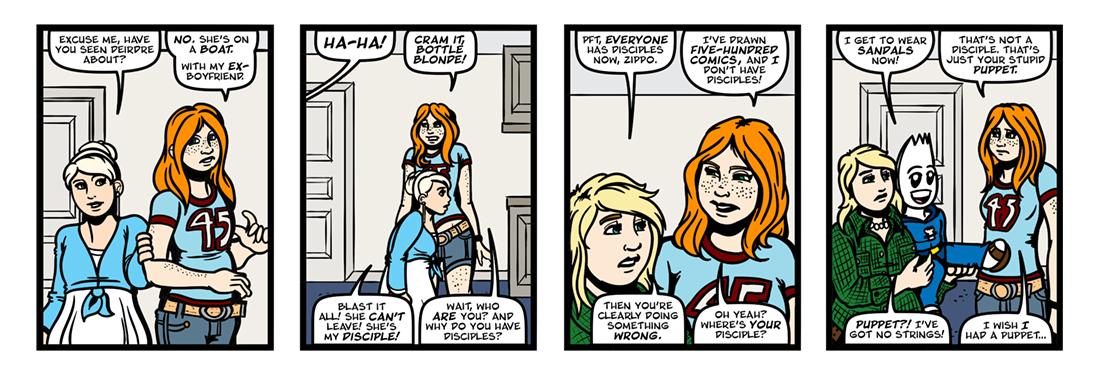 Lit Brick: Number 500  Comic Strip