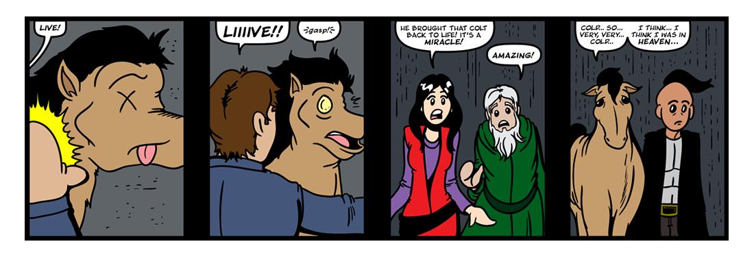 The Belgariad (Part 4)  Comic Strip