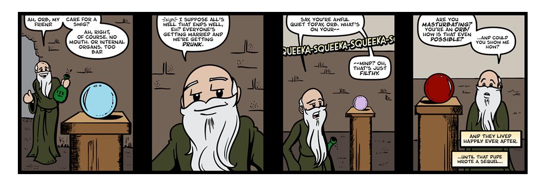The Belgariad (Part 5)  Comic Strip