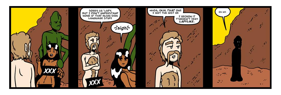 A Princess of Mars (Part 3)  Comic Strip