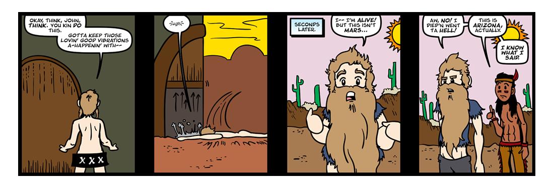 A Princess of Mars (Part 5)  Comic Strip