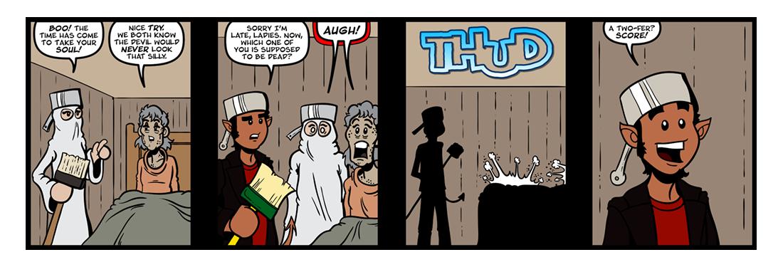 The Devil  Comic Strip