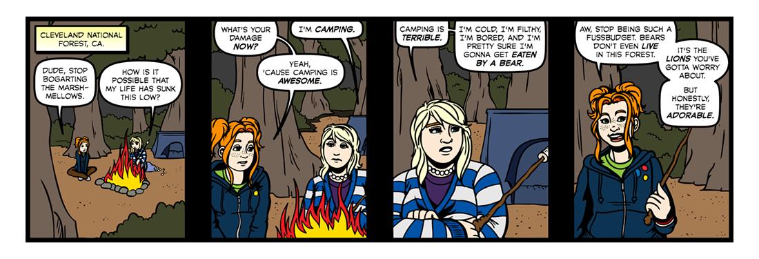 The Epic of Gilgamesh (Part 01)  Comic Strip