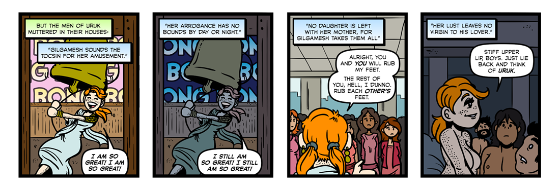 The Epic of Gilgamesh (Part 07)  Comic Strip